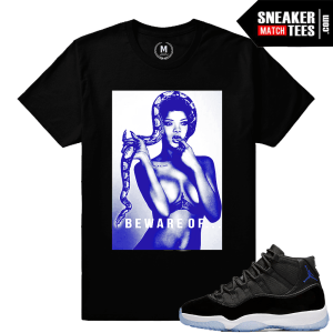 T shirts Matching Space Jam 11 Sneakers