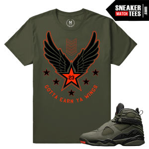 T shirt Matching Take Flight Jordan 8