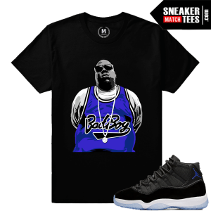 Tee Shirt Match Space Jam 11 Jordans