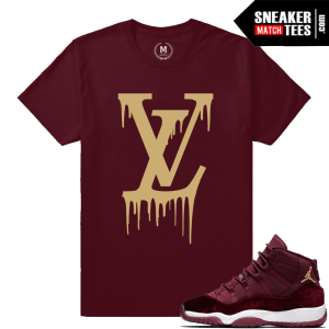 Velvet 11 Jordan Retro Match T shirt