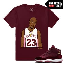 Velvet 11 Sneaker Match Shirts Jordan Retros
