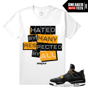 Air Jordan 4 Royalty Match Shirts
