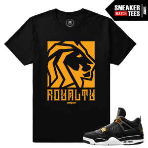 Jordan 4 Royalty Matching t shirt