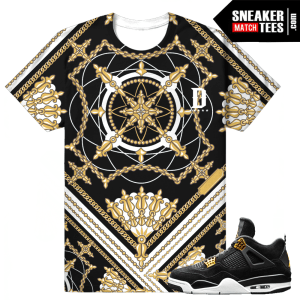 Jordan 4 Royalty T shirt Matching