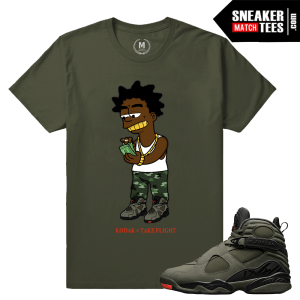 Jordan 8 Retro T shirt Matching