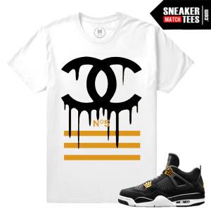 Match Air Jordan 4 Royalty Tees