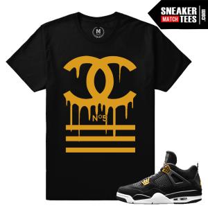 Sneaker Match T shirt Royalty 4s