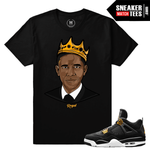 Sneaker Match Tees Royalty 4s