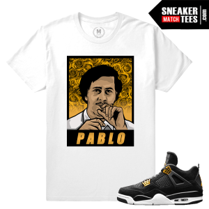 T shirt Jordan Royalty 4s Match