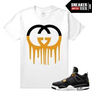 T shirt Matching Royalty 4s Jordan
