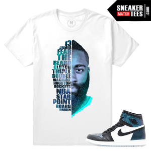 Air Jordan 1 All Star Chameleon shirt Match