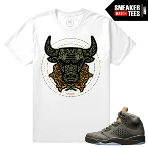 Air Jordan 5 Take Flight Match Sneaker tee