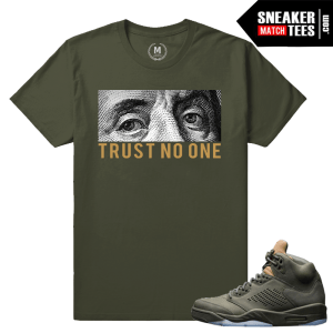 Air Jordan 5 Take Flight Sneaker Match Tee