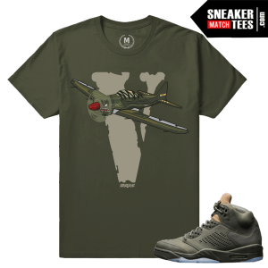 Air Jordan 5 Take Flight T shirt Match