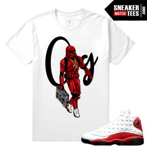 Jordan 13 Chicago Match Sneaker tees