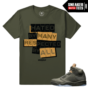 Jordan 5 Take Flight Sneaker matching tees
