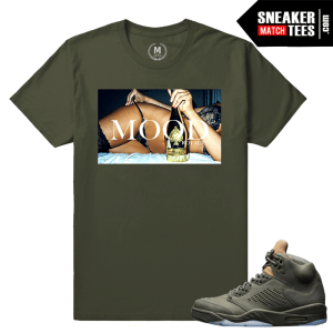Jordan 5 t shirt matching Take Flight 5