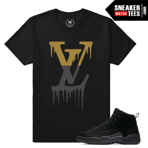 Match Air Jordan 12 OVO Black