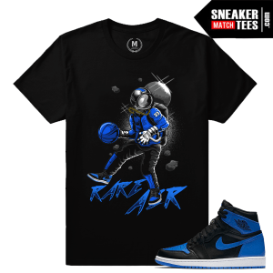 Air Jordan 1 Royal Match Sneaker tees
