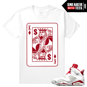 Matching Jordan 6 Alternate t shirt