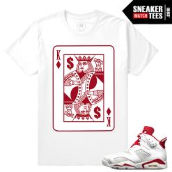 Matching Jordan 6 Alternate t shirt