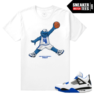 Shirt Match Air Jordan 4 Motorsports
