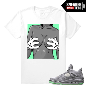 Shirts Kaws 4 Jordans