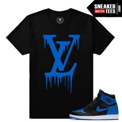 Sneaker Tees OG Royal 1 Jordans