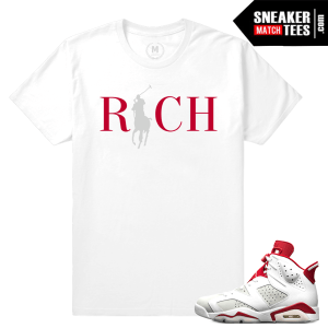 Sneaker tees Jordan 6s Alternate