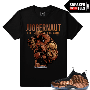 Copper Foams Match T shirt
