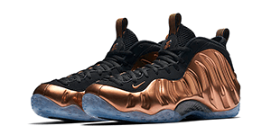 Nike Foamposite Copper Match Sneaker Tee Shirts