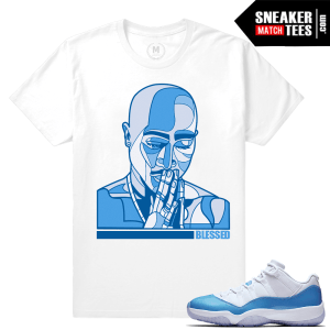 Jordan 11 Low UNC T shirts Matching
