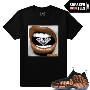 Match t shirt Nike Foams Copper