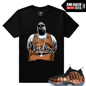 Matching Copper Foamposite T shirt