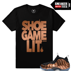 Shirt Match Copper Foams Nike