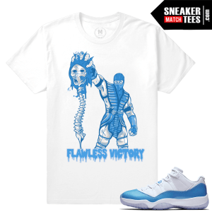 Shirt matching UNC 11 Lows Jordan