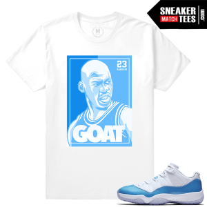 Shirts match UNC 11 lows