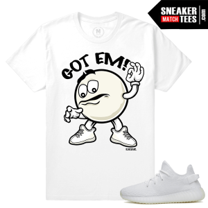 Shirts matching Yeezy Boost 350 White