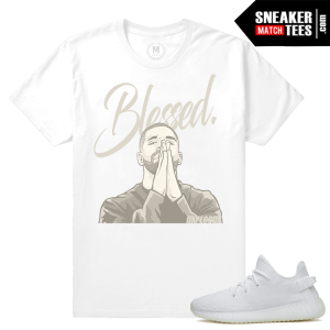White Yeezy Boost 350 T shirts