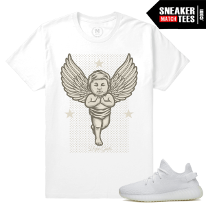 Yeezy Boost White Cream Sneaker t shirts