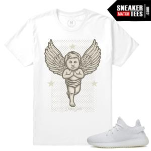 Yeezy Boost White Cream Sneaker t shirts
