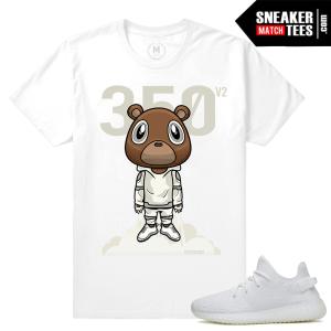 Yeezy Boost White Cream T shirts