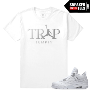 Pure Money 4s T shirt Sneakers