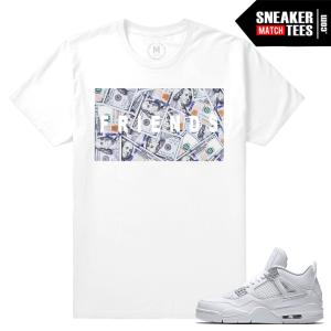 Sneaker tee shirts Pure Money 4s