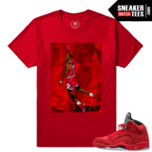 Air Jordan 5 t shirts