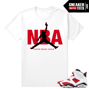 Carmine 6s shirts to match Jordans