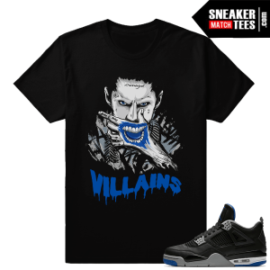 Jordan 4 Motorsport Away matching shirt