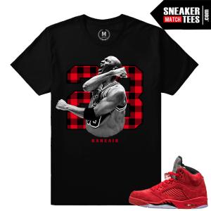 Air Jordan 5 sneaker shirts to match