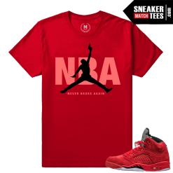 Jordan shirts Retro 5s