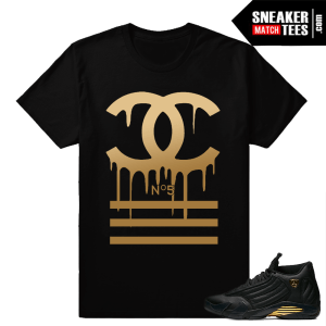 Sneaker Shirts to match Jordan 14 DMP Pack